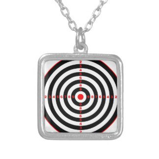 Target Silver Plated Necklace