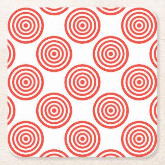 Target Square Paper Coaster