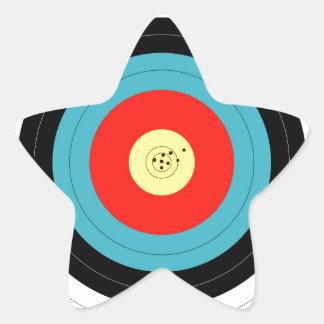 Target Star Sticker