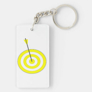 Target with arrow keychain