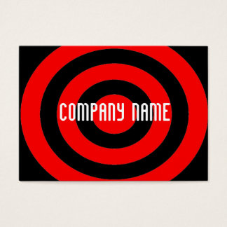 target your company business card