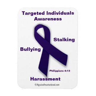 Targeted Individuals Awareness Phil 4:13 Magnet