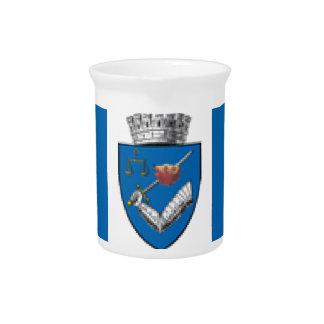Targu_Mures_Flag Beverage Pitchers
