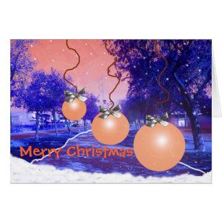 Tarjeta de Navidad Card