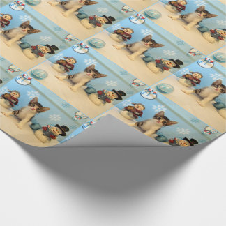 Taromina's Christmas Friends Wrapping Paper