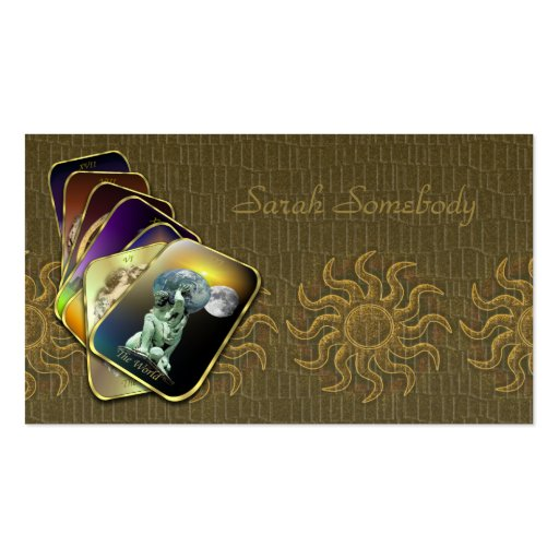 Tarot Business or Profile Card Pack Of Standard Business Cards