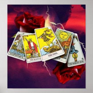 Tarot card Poster