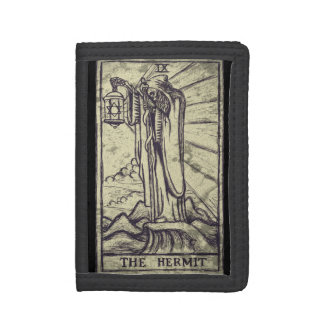 Tarot card The Hermit wallet