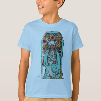TAROT CARD THE HIGH PRIESTESS BY LIZ LOZ T-Shirt