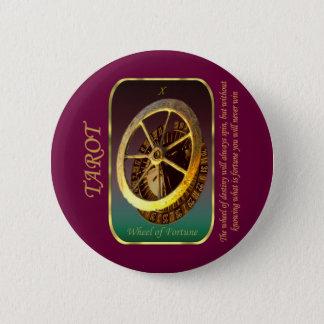 Tarot Card - Wheel of Fortune 2 Inch Round Button
