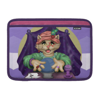 TAROT CAT CARTOON Macbook Air 11 onz H MacBook Sleeves