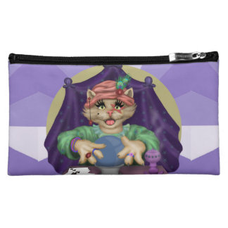TAROT CAT Medium Cosmetic  Bag