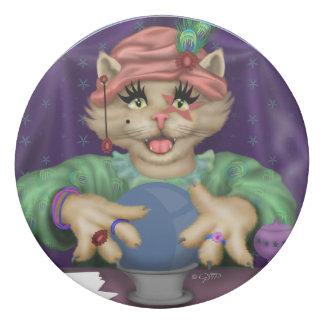 TAROT CAT Round Eraser