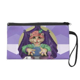 TAROT CAT Wristlet Bag