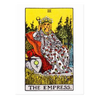 tarot-empress postcard