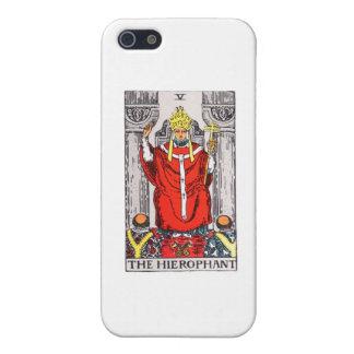 tarot-hierophant iPhone 5 cover