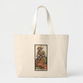 Tarot: Justice Large Tote Bag