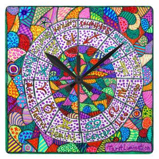 Tarot Lumination Wall Clock