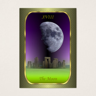 Tarot Profile Cards - The Moon