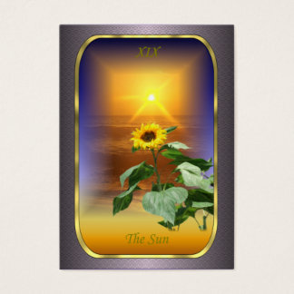 Tarot Profile Cards - The Sun