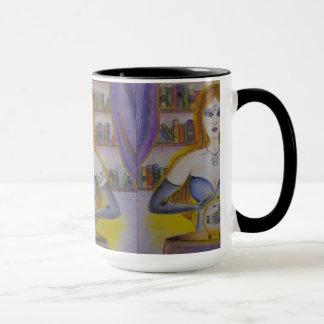 Tarot Reader Mug; Linda Lovett Art Mug