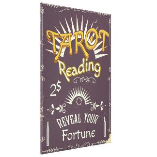 Tarot Reader vintage print