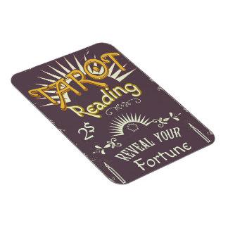 Tarot Reader vintage print Magnet