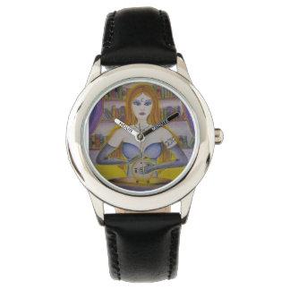 Tarot Reader Watch; Linda Lovett Art Watches