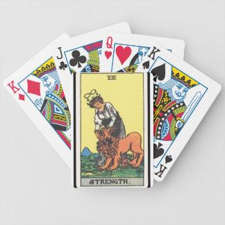 Tarot: Strength Poker Deck