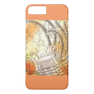 Tarot Symbol Bench iPhone 7 Plus Case