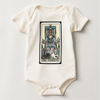 Tarot: The Chariot Baby Bodysuit
