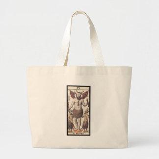 Tarot: The Devil Large Tote Bag