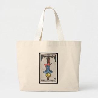 Tarot: The Hanged Man Large Tote Bag