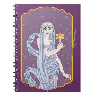 Tarot The Hermit Notebook