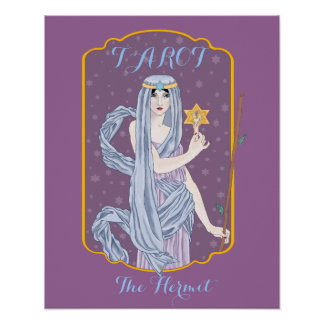 Tarot The Hermit Poster