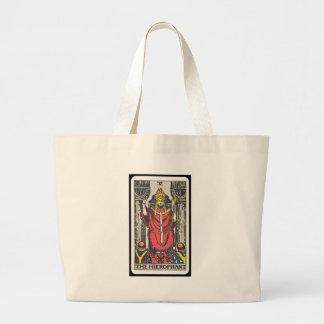 Tarot: The Hierophant Large Tote Bag