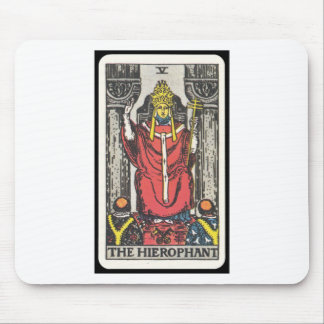 Tarot: The Hierophant Mouse Pad