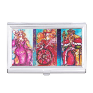 TAROTS OF LOST SHADOWS Empress, Emperor, Fortune Business Card Holder