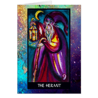 TAROTS OF THE LOST SHADOWS / THE HERMIT CARD