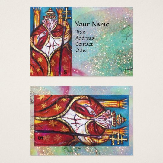 TAROTS OF THE LOST SHADOWS / THE POPE BUSINESS CARD