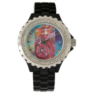 TAROTS OF THE LOST SHADOWS / THE Wheel of Fortune Wrist Watch