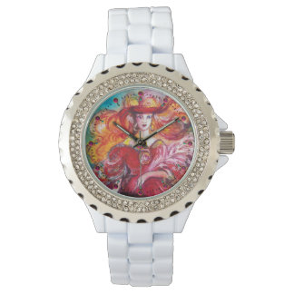 TAROTS OF THE LOST SHADOWS Wheel of Fortune Detail Wristwatches