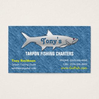 Tarpon Fishing Guide Business Card