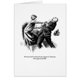 Tarquin and Women Greeting Card