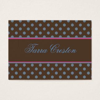 Tarra style business card