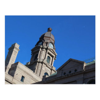 Tarrant County Courthouse in Fort Worth Texas Postcard