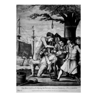 Tarring and Feathering Poster