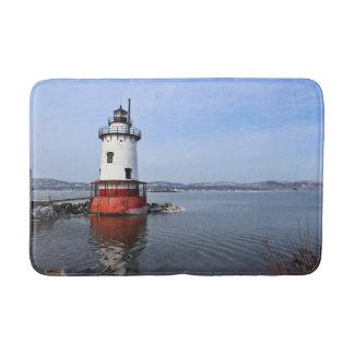Tarrytown Lighthouse, New York Bath Mat