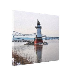 Tarrytown Lighthouse, New York Canvas Print