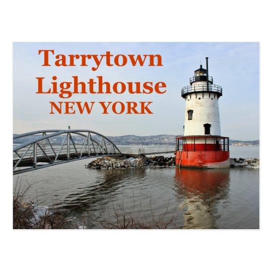 Tarrytown Lighthouse, New York Postcard